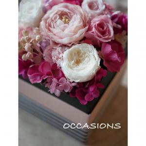 母の日のフラワーギフトに癒しのお花を