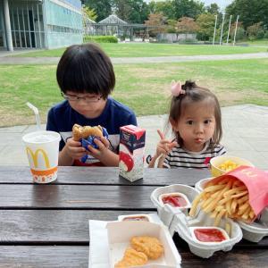 子供部屋と公園