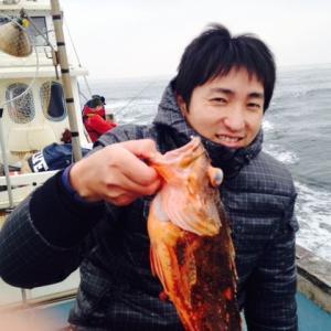 1月15日 福岡西区 船釣り(根魚)