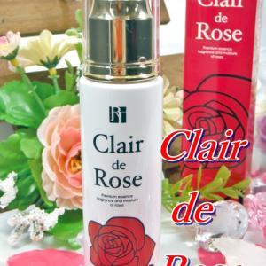 Clair de Rose <クレール ド ロゼ>  バラエキスから生まれた美容液でしっとり