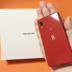 楽天モバイル1円スマホとその使い心地レポ #RakutenMini
