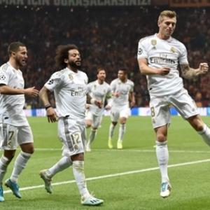 <UEFA-CL> 第3節 ガラタサライ×レアル、マンC×アタランタ、トッテナム×レッドスター等の試合結果