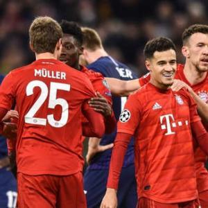 <UEFA-CL>第6節 PSG×ガラタサライ、C・ブルージュ×レアル、バイエルン×トッテナム、アトレティコ×ロコモティヴ等の試合結果 16強決まる