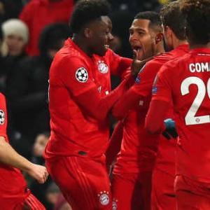 <UEFA-CL>決勝T1回戦第1戦 チェルシー×バイエルン、ナポリ×バルセロナ 結果