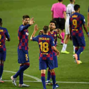 <UEFA-CL>決勝T1回戦第2戦 バルセロナ×ナポリ、バイエルン×チェルシーの試合結果