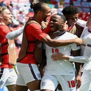 <UEFA EURO2020> 第1節 イングランド、クロアチアを下して白星発進! スターリング弾守り切る