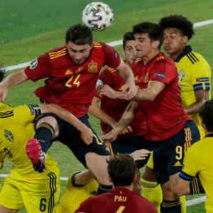 <UEFA EURO2020> 第1節  スペイン対スウェーデンの試合結果