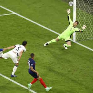 <UEFA EURO2020> 第1節 フランス対ドイツの試合結果
