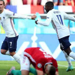 <UEFA EURO2020> 第2節 ハンガリー×フランスの試合結果