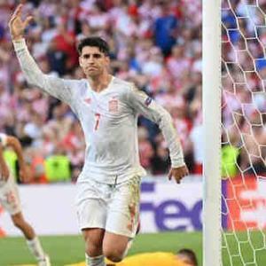 <UEFA EURO2020> 決勝T1回戦 クロアチア×スペインの試合結果