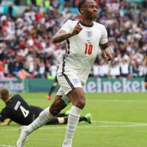 <UEFA EURO2020> 決勝T1回戦 イングランド×ドイツの結果&ベスト8出揃う