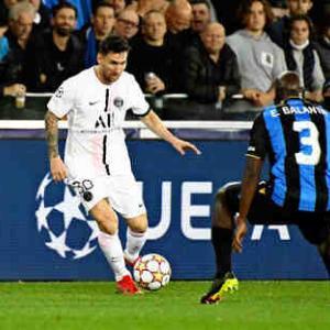 <UEFA-CL>第1節 C・ブルージュ×PSG、マンC×ライプツィヒ、リバプール×ミラン、インテル×レアルなどの試合結果