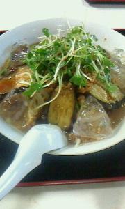 城東食堂の冷やし味噌ラーメン と 今週の予定(9~14日)