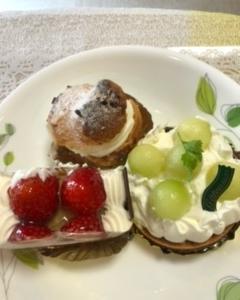 ピーターパンのケーキ と シャロンのあんみつ と 今週の予定(21~26日)