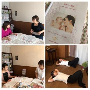 セラピスト向け産後ケア講座ご受講の大阪の看護師さん
