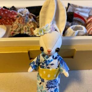 オーダー衣装 浴衣とお花カチューシャ / custom-made Yukata and flower headband
