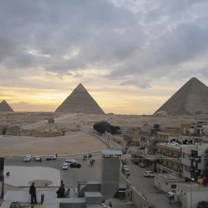 #063 エジプト旅行2020【5日目】~三大ピラミッドのサンセット~