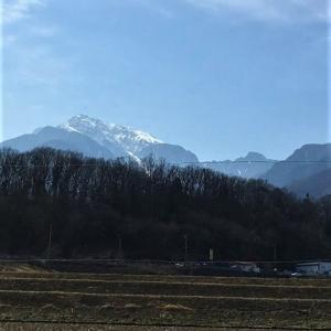 旅ラン「甲州道走膝痛シ」…石和宿~蔦木宿、その10(なんば歩き)