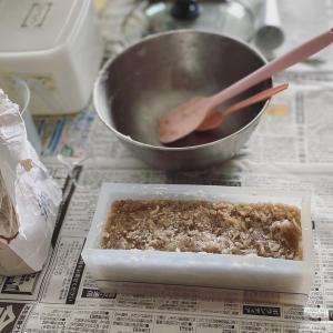 ホットプロセスでお気に入りのシャンプー石けん作り