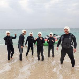 3月12日 体験ダイビング&バナナボート〜沖縄卒業旅行♪〜