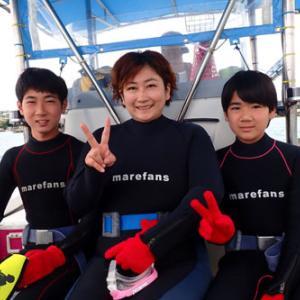 3月31日 青の洞窟体験ダイビング〜ファミリー〜