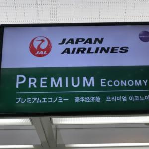 JALチェックインカウンターで注意されるの巻