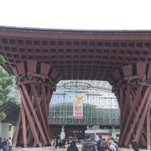 金沢に来ております!