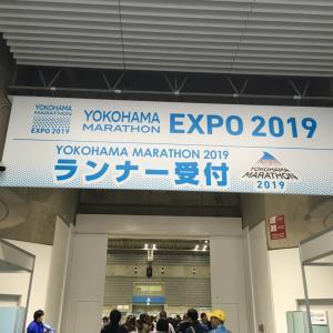 横浜マラソンexpoだぽ。