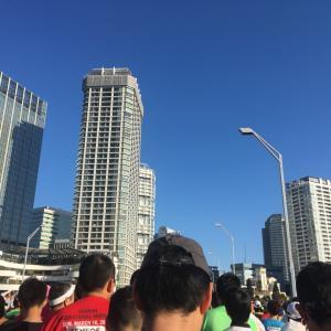 楽しんできました横浜マラソン