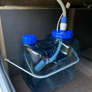 ジル522快適化清水タンク交換  リチウムに負荷をかけてみました
