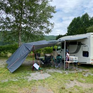 ジル522 で行く初キャンプこだまの森キャンプ場
