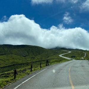 ジル522 で行く九州の旅5日目 阿蘇山と果物狩り編