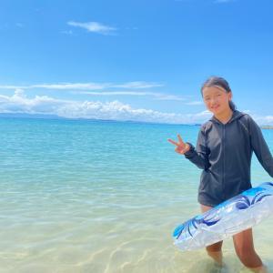 ジル522 で行く九州の旅 8日目壱岐筒城浜海水浴