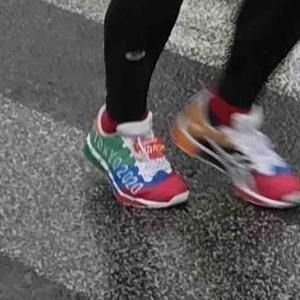 熊本城マラソン2020 雨の中選手の皆さんがんばった!