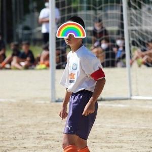 息子よ!よくがんばったジュニアサッカー!