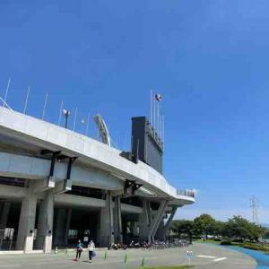熊本県民総合運動公園でランニング!