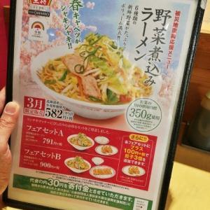 餃子の王将 野菜煮込みラーメン