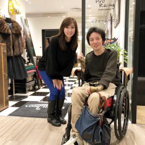 吉永愛さんの、毛皮コートをリフォーム