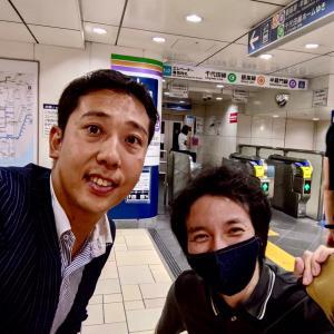 またまた偶然の再会!!表参道にて!!