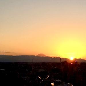 最後の日に房総半島まで一望、富士山も見れた!!感謝