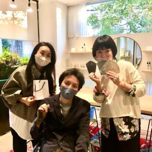マスクを切っ掛けに出会えて感謝!!