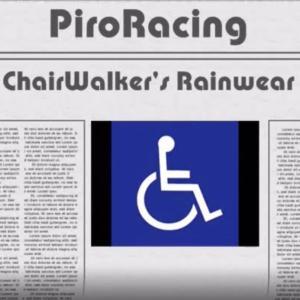 車椅子の雨移動の必需品
