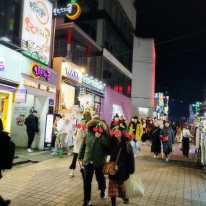 【ソウルなう★4】昨夜のホンデ~東大門