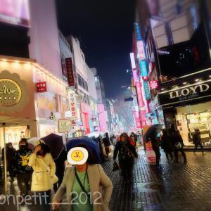 【2020.2月★ソウル旅】明洞で急な雨…駆け込んだお店は…!!