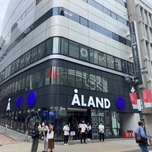 渋谷「ALAND」店内はこんな感じ!本日オープン♪