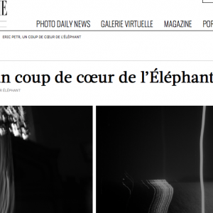 l'Oeil de la Photographie : interview de Eric Petr
