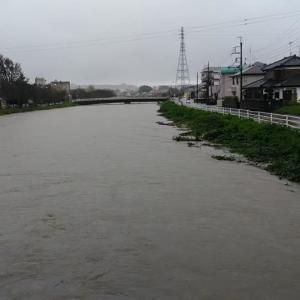 台風25号の影響か・・・大雨です~茂原②