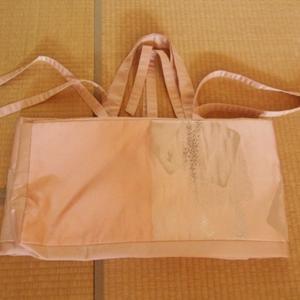 ハンドメイド 帯地でお琴のバッグ