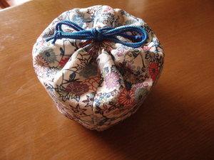 お茶碗と茶杓の袋