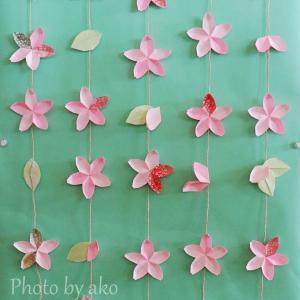 桜の吊り飾り